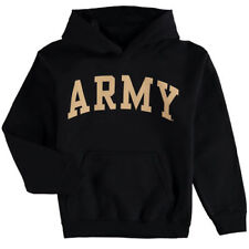 Army Black Knights Youth Basic Arch Pullover Hoodie - Black - NCAA