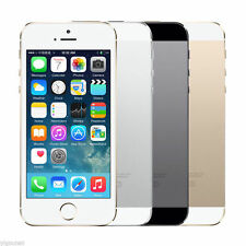 "Apple iPhone 5s/iPhone 4s 16 32 64GB GSM""Factory Unlocked""Smartphone Gold AA+ IS"