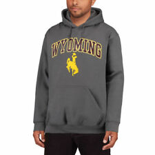 Fanatics Branded Wyoming Cowboys Campus Pullover Hoodie - Charcoal - NCAA