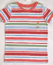 GYMBOREE Burst of Spring Size 5 or 6 Top Shirt New Stripe Tee Girls Twins