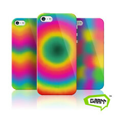 Bright and Colourful Tie Dye Protective Snap on iPhone 5 Case 5s Cover