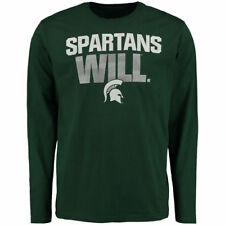 Michigan State Spartans Fanatics Branded Spartan Mantra   T-Shirt - Green