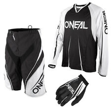 Oneal Freeride Element Blocker Mountain bike DH Combo Downhill MTB black white