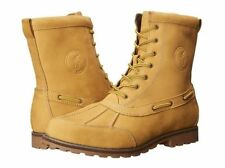 NEW  Polo Ralph Lauren Mens Winter Fashion Duck Bike Boots Shoes Jeans Whitsand