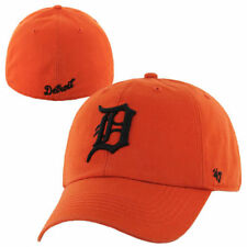 Detroit Tigers '47 Brand Franchise Fitted Hat - Orange - MLB