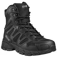 MAGNUM UNIFORCE 8.0 BLACK LIGHTWEIGHT TACTICAL POLICE SECURITY MILITARY BOOTS