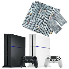 Simulation Pattern PVC Vinyl Decal Stickers 6 Sets for PS4 PlayStation 4 QC