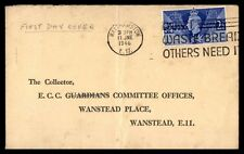 Great Britain Walthamston to Wanstead 1946 FDC Victory Issue