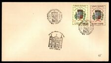 CABO VERDE CITY OF PRAIA CENTENARY PICTORIAL CANCEL ON COVER JUN 14 1953