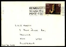 7.5 rate post code slogan cancel on cover to Australia first day cover