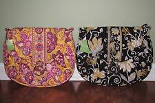 Vera Bradley BALI GOLD or YELLOW BIRD Hipster Crossbody SADDLE UP Purse - NWT
