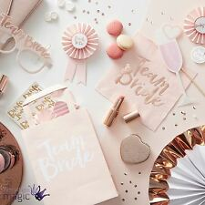 Ginger Ray Team Bride Hen Night Out Bachelorette Party Decoration Tableware Set