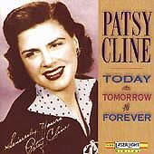 "PATSY CLINE ""Today, Tomorrow & Forever"" 1991 Laserlight ~ SEALED Country Classic"