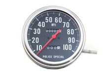 Police Speedometer 2:1 Ratio,for Harley Davidson motorcycles,by V-Twin