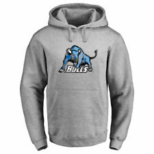 Buffalo Bulls Fanatics Branded Primary Logo Hooded  Sweatshirts - Heather Gray