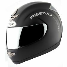 Reevu Msx 1 Rear View Helmet Black Matte