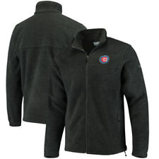 Chicago Cubs Columbia Flanker Full-Zip Jacket - Charcoal - MLB
