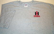 Mens IH Farmall S/S Embroidered T-shirt w/Pocket (4 colors)
