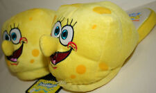 Nickelodeon Spongebob Squarepants Slippers Sponge Yellow ADULT PLUSH HOUSE SHOES