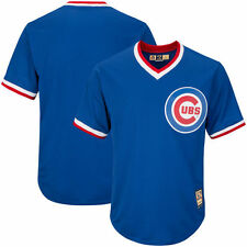 Chicago Cubs Majestic Cooperstown Cool Base Jersey - Royal - MLB