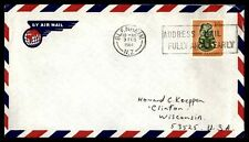 February 3 1964 Blenheim New Zealand cover with slogan cancel to USA