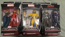 MARVEL LEGENDS Hawkeye Avenging Allies Sentry & Scarlet Witch BAF Allfather NEW
