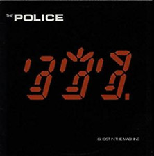 The Police: Ghost in the Machine, ,Good, ######Vinyl with cover art - G/G-Aged c
