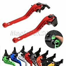 Pair Aluminum 3D Long CNC Clutch Brake Levers For Motorcycle Honda CB400 2000