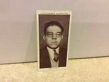1938 Churchman's Cigarettes Boxing Personalities #42 Jack Hart