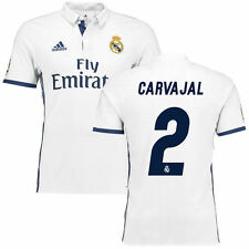 Carvajal Real Madrid adidas 2016/17 Home Authentic Jersey - International Clubs