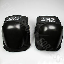 187 Killer Professional Skateboard/Roller Derby Knee Pads (NEW) Lists @ $90