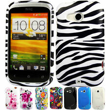 Silicone TPU Gel Bumper Case Cover Sleeve Skin For The HTC Desire C