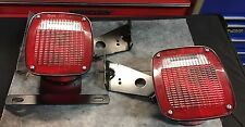 GROTE 5370 5371 TAIL LIGHTS TRAILER Truck Ford RV Cab Semi Angle Connector 9130
