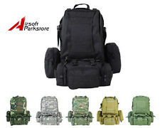 Molle Military Tactical Large Assault Backpack Hiking Camping Day Bag 6 Colors