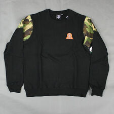 Lifted Research Group - LRG The Lifted 47 Crewneck Sweatshirt in Black NWT L-R-G