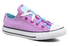 Kids's Converse Chuck Taylor All Star Loopholes Ox Lace-up Trainers in Purple