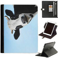 Cow Calf Farm Luxury Apple ipad 360 swivel leather case cover with card sl