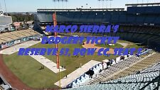 One Opening Day Reserve Ticket Los Angeles Dodgers vs San Diego Padres 4/3/17