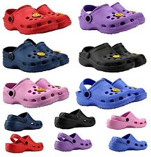 INFANTS KIDS GIRLS BOYS BEACH GARDEN MULES POOL CLOGS SANDALS FLIP FLOP SHOES
