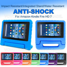 NEW Kids Shock Proof EVA Handle Protect Case Cover for Amazon Kindle Fire HD 7
