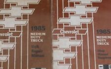 1985 GM Chevy Medium Duty Truck Unit Repair Service Manual OEM Set W Supplement