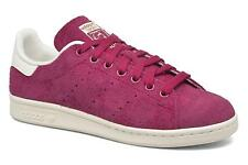 Women's Adidas Originals Stan Smith W Low rise Trainers in Red