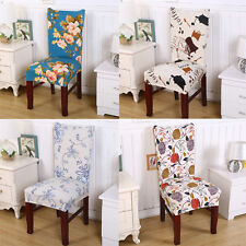 Home New Office Computer Study Flower Chair Banquet Restaurant Protector Cover
