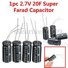 20pcs 2.7V 20Farad Cylindrical Super Farad Ultra Capacitor High Power Supercap
