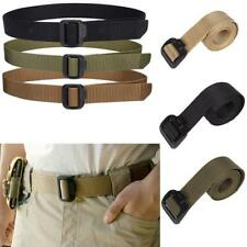Nylon Buckle Army Military Belt Mens Womens Sports Web Canvas Wais Belt