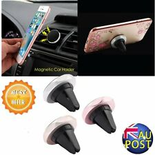 Universal Auto Phones Holder Magnetic Car Air Vent Mount Mobile Phone Stand VRT