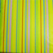 EASTER~BIRTHDAY~SHOWER~STRIPES TABLECLOTH~Vinyl~Flannel Back~ALL SIZES~New