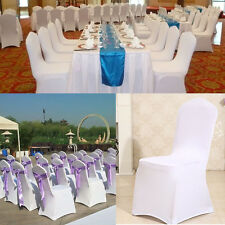 Spandex Lycra Chair Cover Stretch Wedding Supply Party Banquet Decoration EW