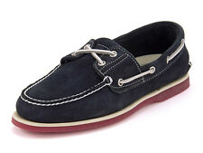 MENS TIMBERLAND CLASSIC 2 EYE BOAT SHOE NAVY SUEDE - SIZES 7 TO 9.5 UK WIDE