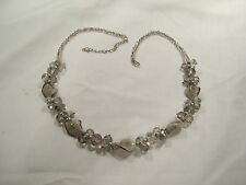 "VINTAGE   (  GLASS  )  BEADED  -  NECKLACE -   LOVELY -  20"" LONG"